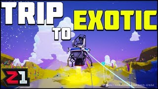 Leaving Terran and Making a Quick Trip to EXOTIC Planet! Astroneer Gameplay | Z1 Gaming