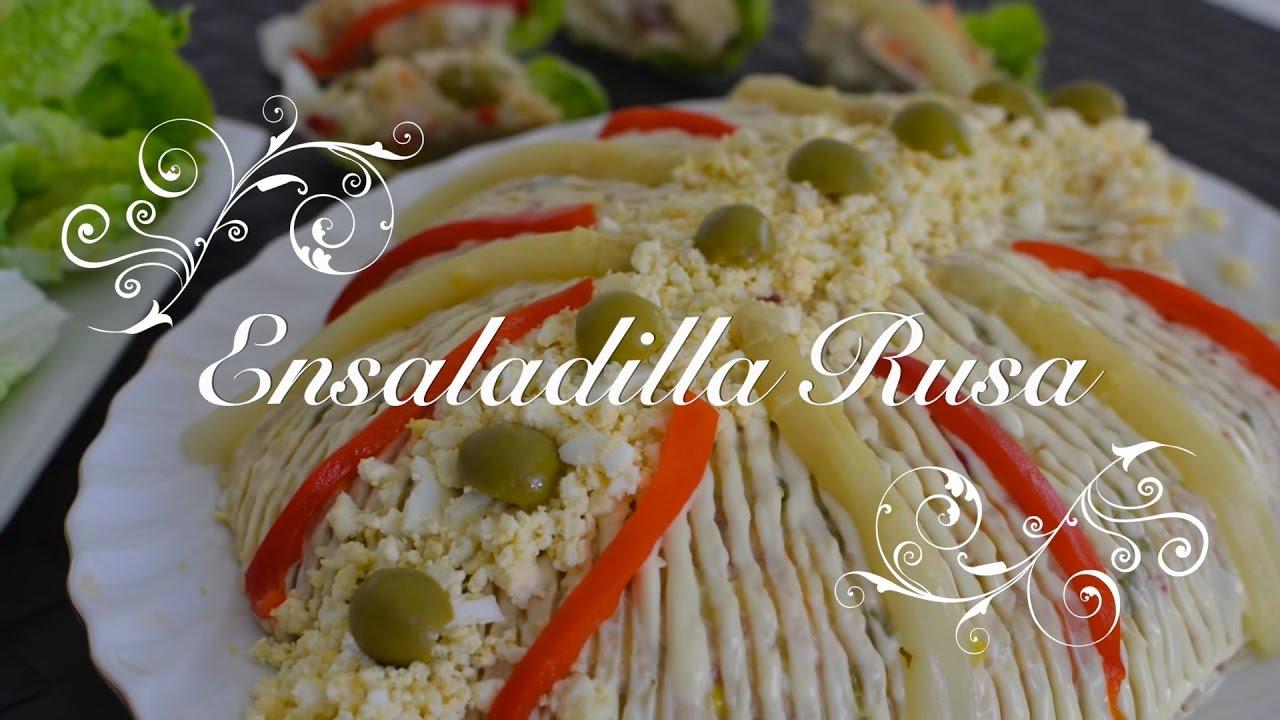 Ensaladilla Rusa Casera | Receta Ensaladilla Rusa | Recetas de Cocina Fácil por Chef de mi Casa.com