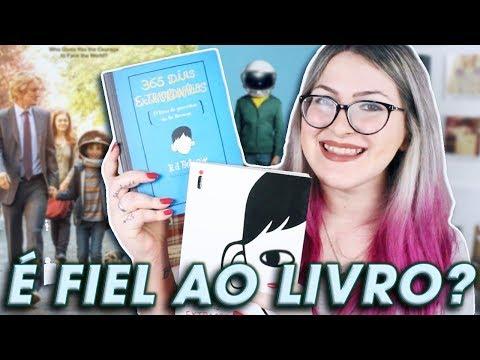 Vale a pena assistir EXTRAORDINÁRIO? | Livro vs. Filme - SEM SPOILERS!