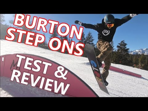 BURTON STEP ON SNOWBOARDING TEST & REVIEW