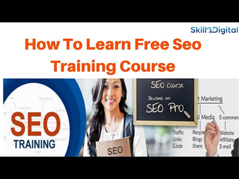 How to learn complete free seo training course online | search ...
