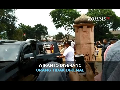 [BREAKING NEWS] Detik-detik Menko Polhukam Wiranto Diserang di Pandeglang