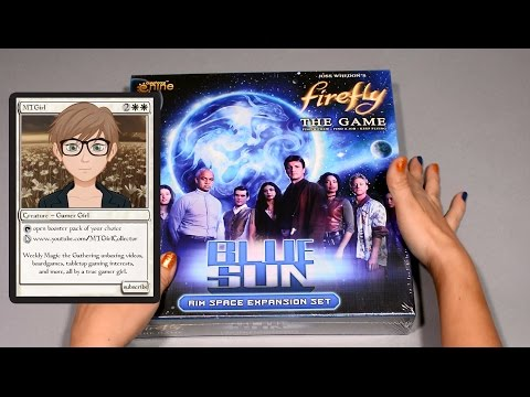 MTGirl: Firefly BLUE SUN Expansion Unboxing