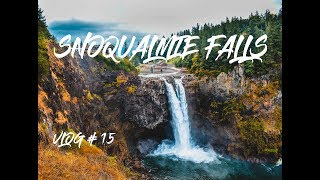 Snoqualmie Falls Got in trouble with the police for flying my drone: Vlog 15