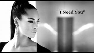 ''I Need You'' By Alicia Keys [w/Lyrics Sing-Along]