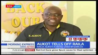 Ekuru Aukot responds to NASA on ties to Jubilee