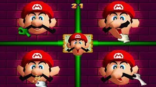 Mario Party 2 - All Battle Minigames