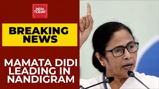 Election Results 2021 LIVE News Updates: Mamata Banerjee Leading In Nandigram| Breaking