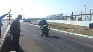 preview picture of video 'Achna speedway dragbike run what you brung'