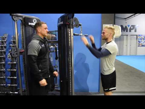 Straight Bar Tricep Extension