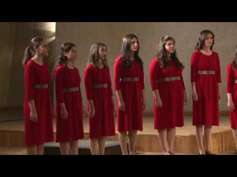 """""""Sona Yar"""" (Komitas) by the Ayb School Choir"""