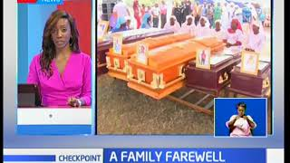 A Family Farewell: 5 family members buried in Kisumu