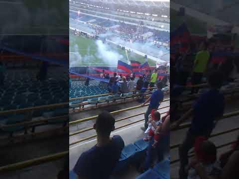 """""""Gran recibimiento de los guerreros chaimas al Monagas sport club"""" Barra: Guerreros Chaimas • Club: Monagas • País: Venezuela"""
