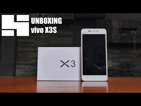 Unboxing vivo X3S Indonesia