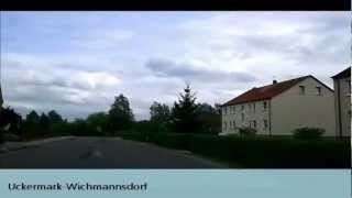 preview picture of video 'Uckermark-Tour 2 (Wichmannsdorf-Kuhz)'