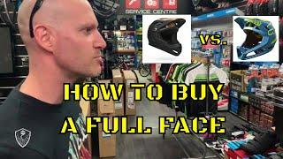 How to buy a full face helmet || Bell Sanction Vs Fox Proframe
