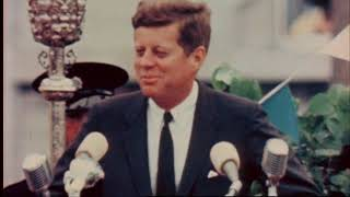 John F. Kennedy Visits Galway City, Ireland 1963