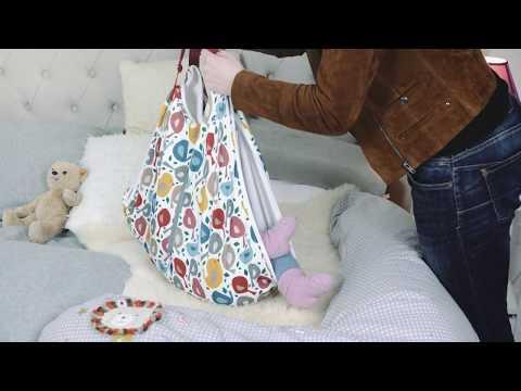 Marlybag - Die praktische Babytragetasche