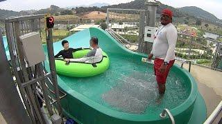 Python Water Slide at RamaYana Water Park