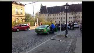 preview picture of video 'Rallye Wittenberg 2104 - Rink / Polzin - Opel Kadett C'