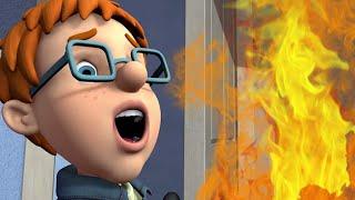 Feuerwehrmann Sam ⭐️ Ach nein! Feuer in Normans Kinderzimmer! 🔥Sam rettet den Tag!   Cartoons