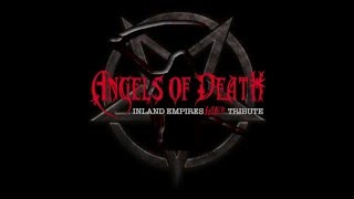 """Angels of Death (I.E. SLAYER!!! tribute) """"Disciple"""" official video teaser"""