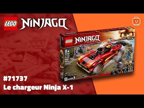 Vidéo LEGO Ninjago 71737 : Le chargeur Ninja X-1