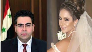 معلومات لاتعرفوها  بالتفصيل عن ديمة قندلفت وزوجها الوزير الاقتصاد سوري