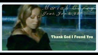 "Mariah Carey ""Thank God I Found You"" feat. Joe & 98° (""MTV Homecoming"" Music Video) HD"