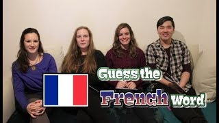 Learning French with Emma: Guess the French Word