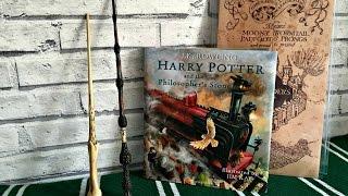 Harry Potter Illustrated Edition L Flip Through