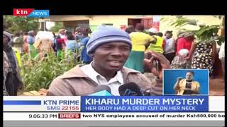 Murder in Kiharu leaves residents in shock