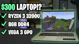 GAMING on a $300 LAPTOP!