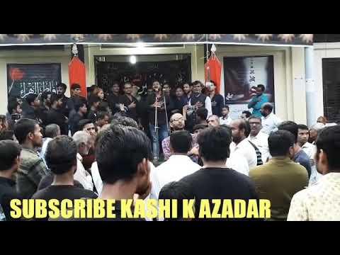 NOHA SAGAR BANARASI || BAD ASR K ZAINAB as Tera bhaiya na rahega chhin jaegi chadar tere parda na ra