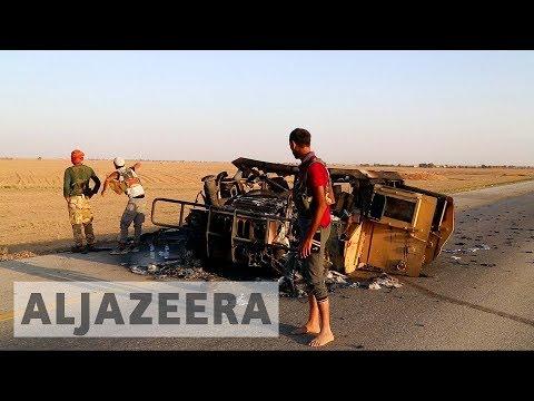 Air strike targets US-backed SDF near Syria's Deir Az Zor