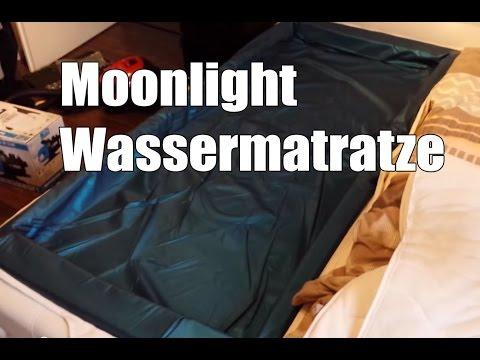 Moonlight Wellness Wasserbett   Wasserbettmatratze für Lattenrost im Aufbau und Test