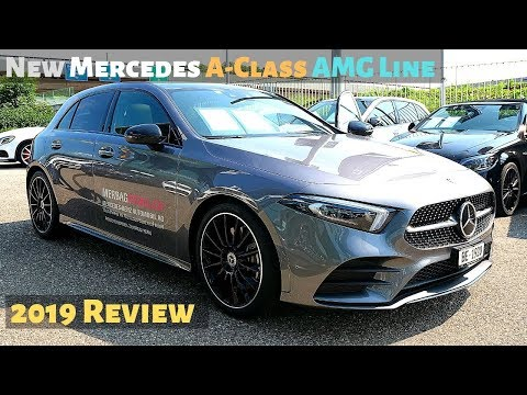 New Mercedes A-Class AMG Line 2019 Review Interior Exterior