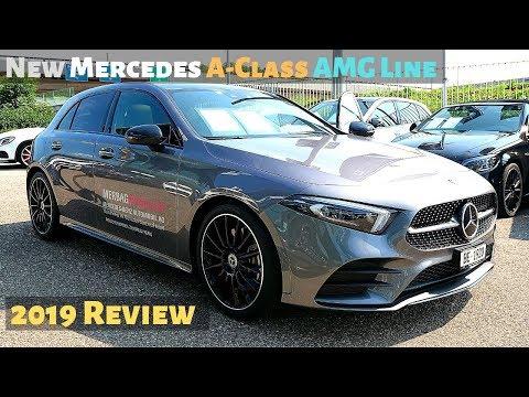 New Mercedes A-Class AMG Line 2019 Review Interior Exterior