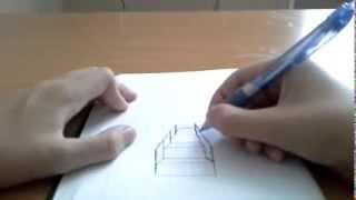 Рисуем лестницу
