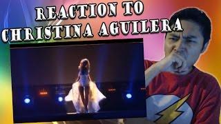 Christina Aguilera Live at Back 2 Basics Tour - Understand (REACTION)