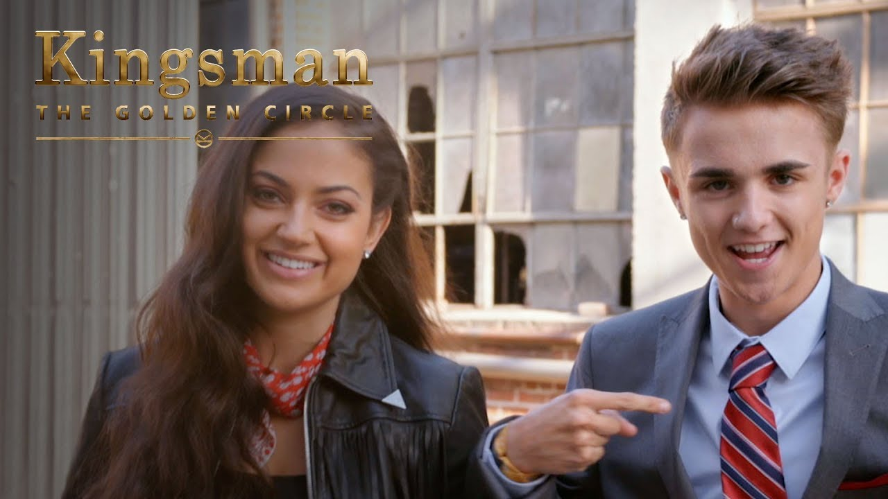 Jake Mitchell and Inanna Sarkis Attempt Kingsman Level Stunts
