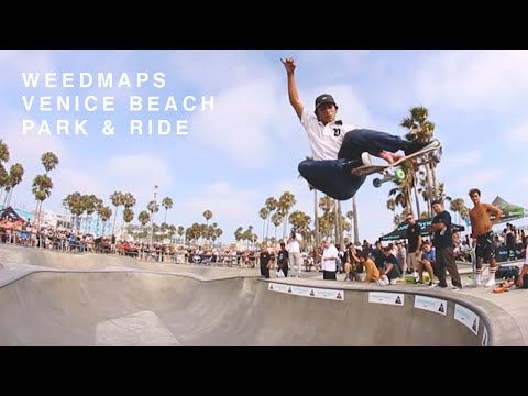 Weedmaps Venice Beach 'Park & Ride' | TransWorld SKATEboarding