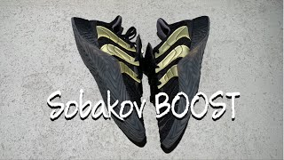 sports shoes 248fd cdee9 ADIDAS SOBAKOV BOOST UNBOXING   ON FEET REVIEW