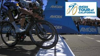 Amgen Tour of California 2018 | Stage 7 Recap From Behind the Scenes - Photo Finish! - Video Youtube