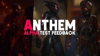 Anthem | Alpha Test Feedback & Interceptor Cosmetics