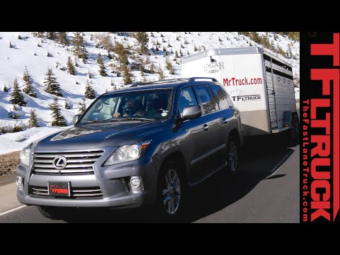2015 Lexus LX 570 takes on the grueling IKE Guantlet towing review