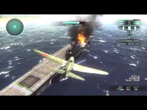 (Ps3) Air Conflicts - Pacific Carriers Gameplay Offscreen