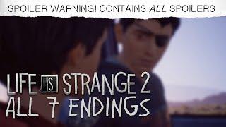 ALL 7 ENDINGS - Episode 5 - Life is Strange 2