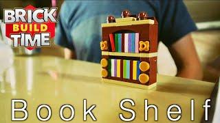 LEGO MOC Bookshelf | Build Time Tuesday | Trash Can Films