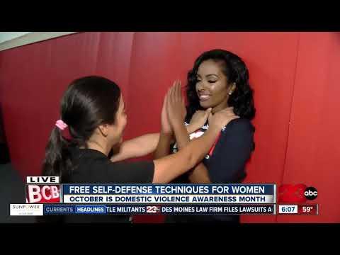 Free women's self-defense class - YouTube